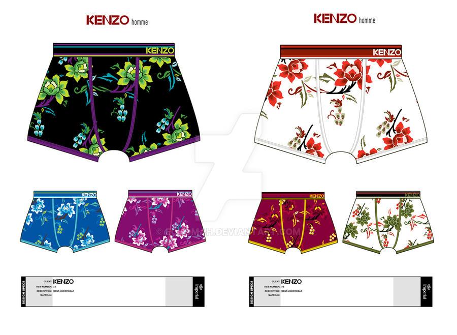 c2485aa095 Kenzo Men s Underwear Design by echomah on DeviantArt