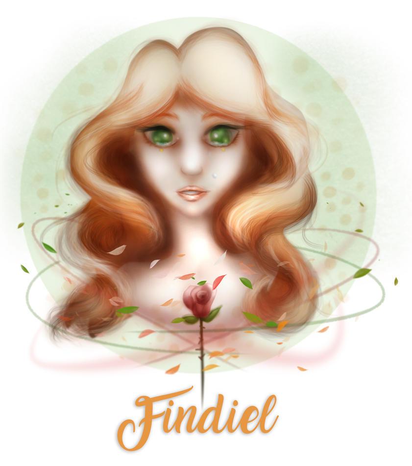 OC - SAD GIRL by Findiel