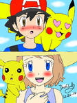 Amourshipping and pikashipping in Alola
