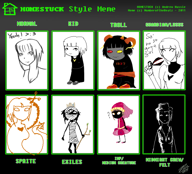 Homestuck Meme By Kuroikawaii On DeviantArt