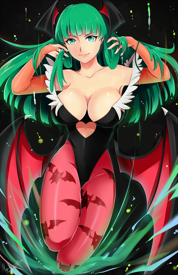Morrigan by Xryuu