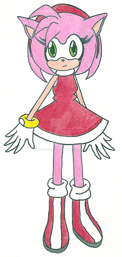 Amy Rose by koakuma666
