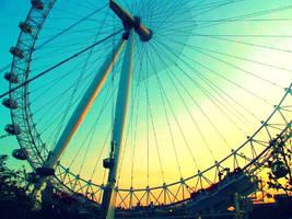 London Eye by tvg2a