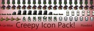 Creepy Icon Pack