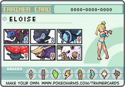 Eloise's Trainer ID by pumpkincookie