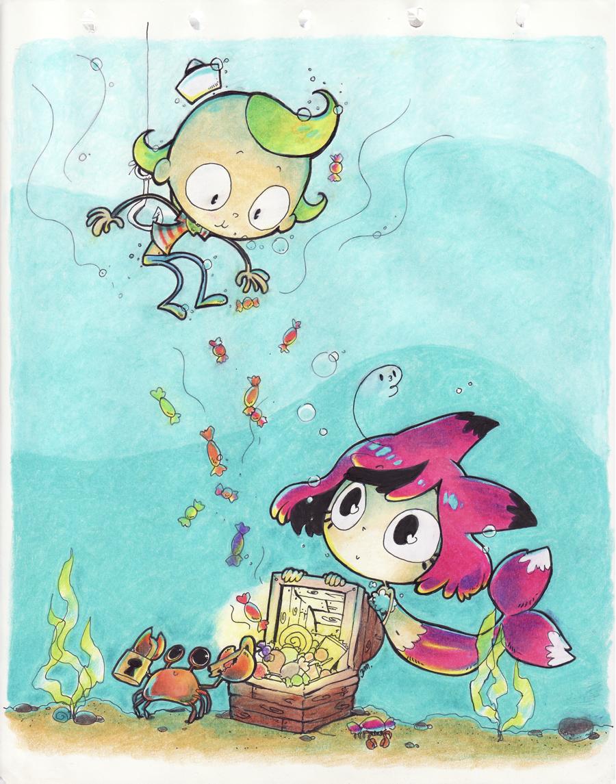 Flapjack nd SeaFox by Jumpix