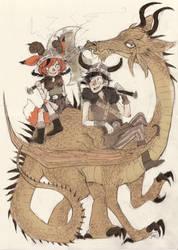 Dragon Love by Jumpix