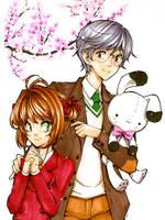 Sakura y Yukito by Jumpix