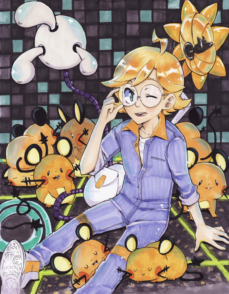 Clemont for Pokemon X Y Countdown! by Jumpix