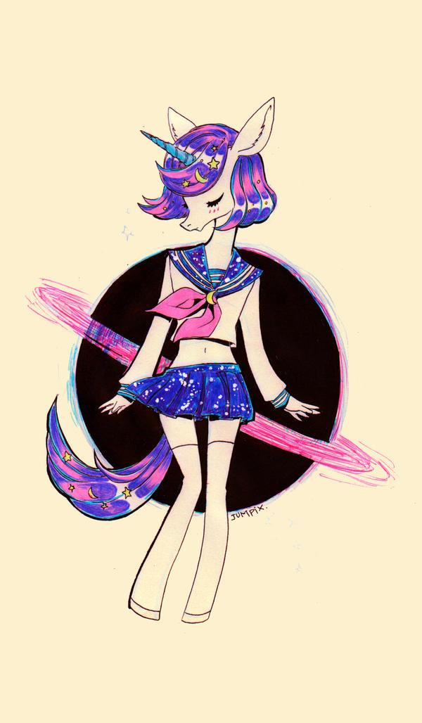 Stars Collection: Sailor Unicorn by Jumpix