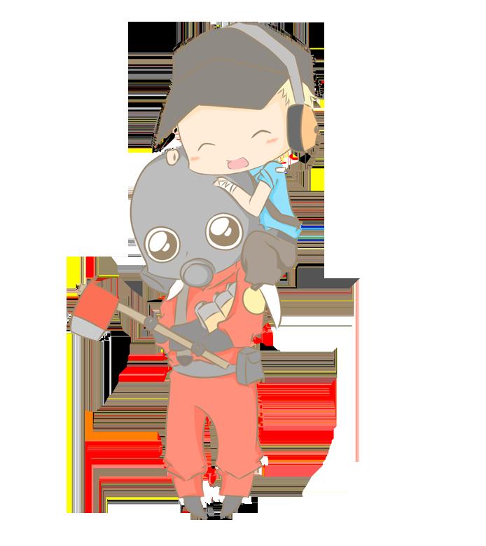 ScoutxPyro by criis-chan