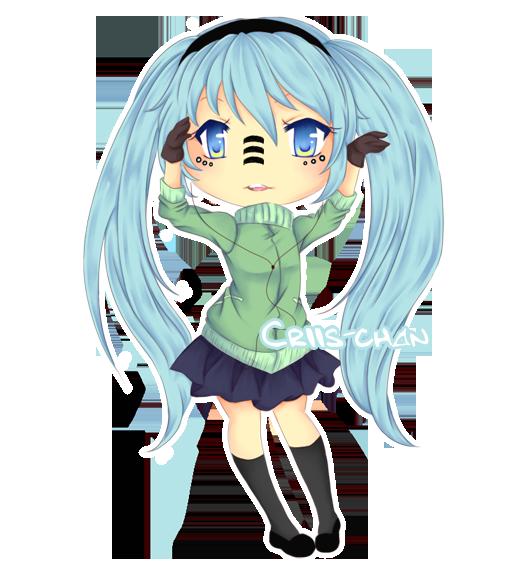 Hatsune Miku by criis-chan