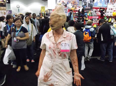 Nurse Maid Cosplayer