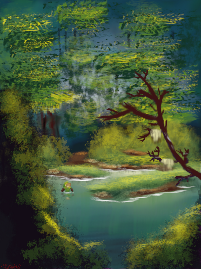 Deep in the swamp by rustedsoda