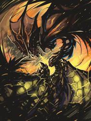 MonsterHunter- Fight in fire
