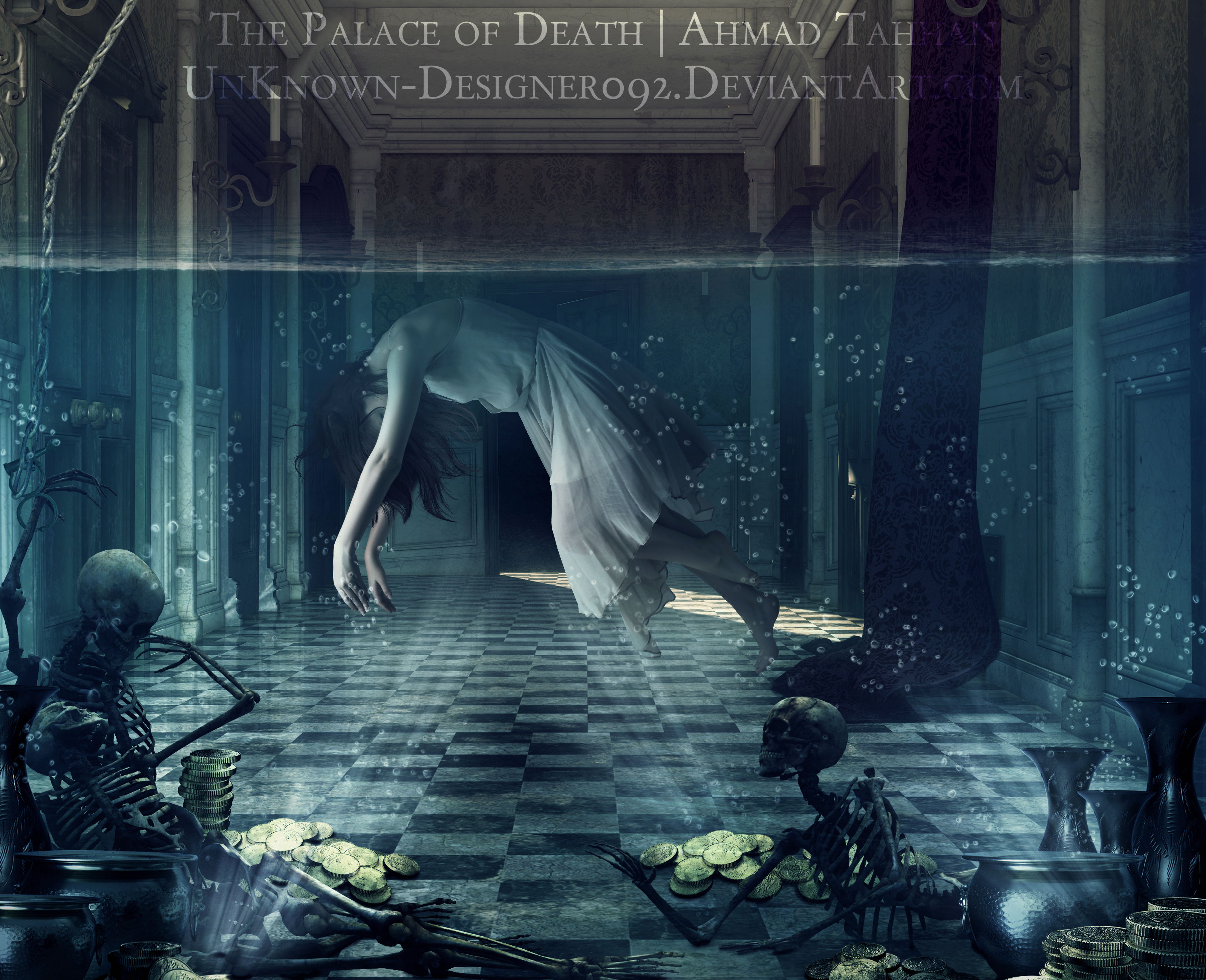 The Palace of Death by Ahmad-Tahhan