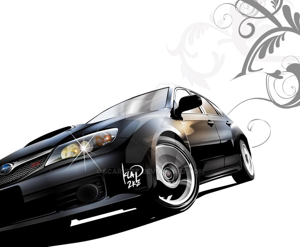 Vector - 2008 Subaru Impreza by scarypet