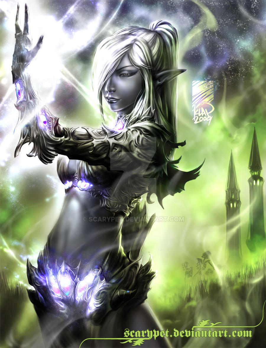 Majiya, Drow Witch