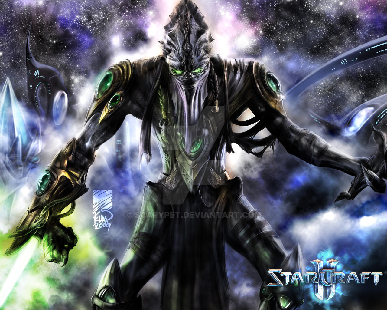 Zeratul, Dark Templar Prelate by scarypet