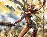 Red Sonja, at War