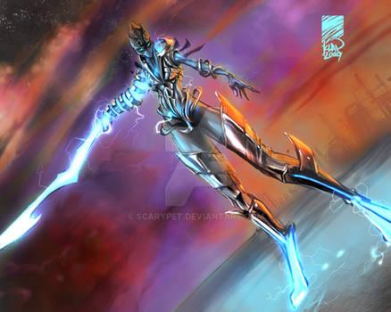 Concept Art - Energy sword