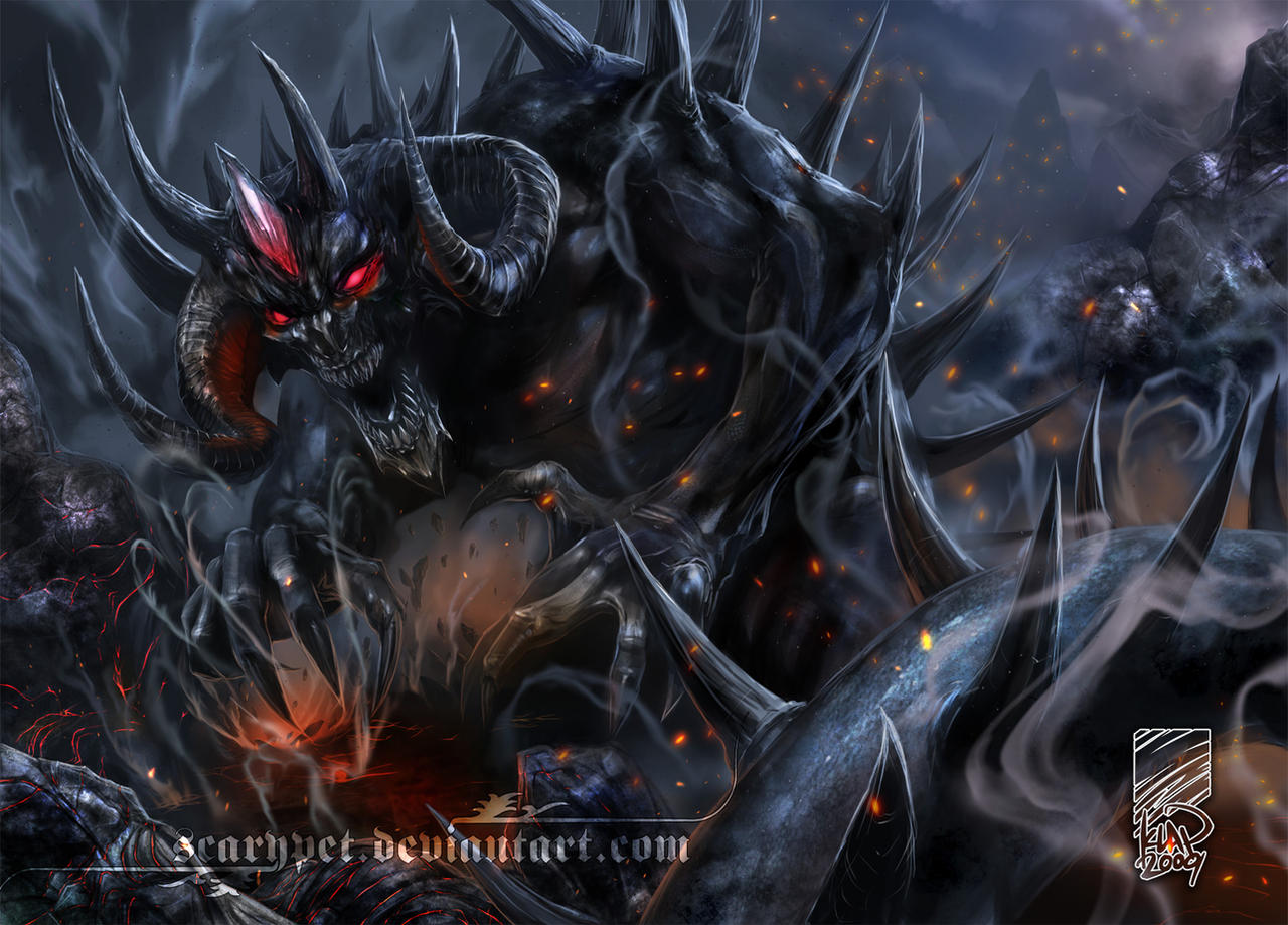 Diablo, Lord of Terror by scarypet