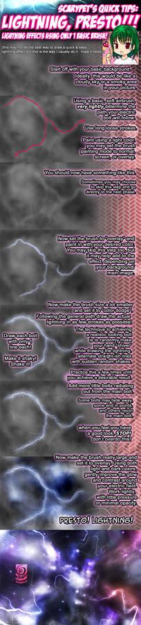 Scarypet's Lightning Tutorial