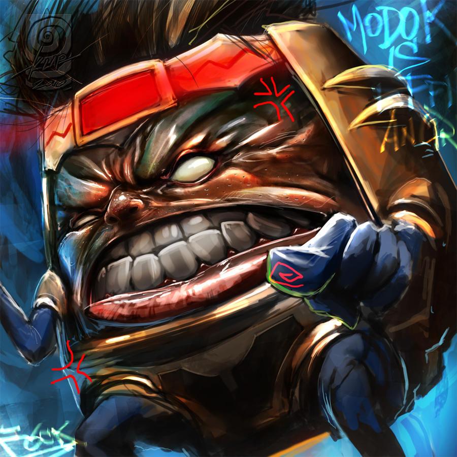 Free Comic Book Day Ultimate Comics: Modok Iz Fohckin Angrie By Scarypet On DeviantArt
