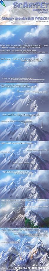scarypet's SnowyMountTUTORIAL