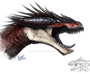 Imaginasaurus dragon sketch
