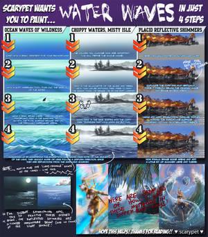 scarypet's watery waves tutorial!!
