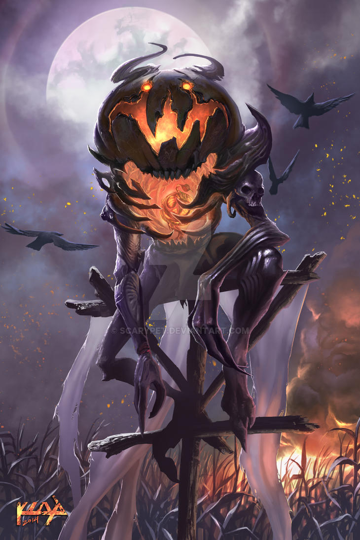 The Pumpkin King by scarypet