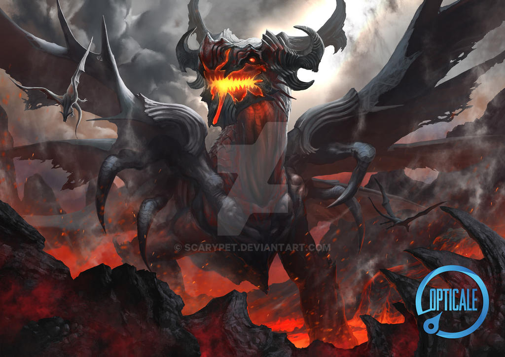 Dragon King Ancalog by scarypet