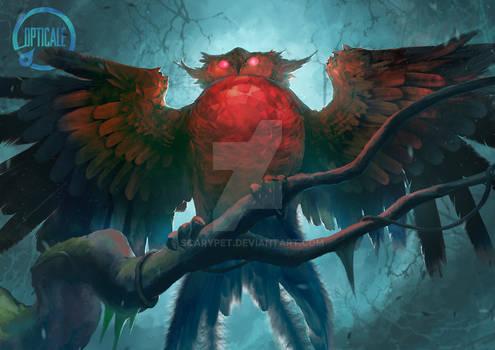 Gobora, The Crystal Owl