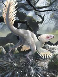 Albino Deinonychus