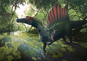 Scarred Spinosaurus