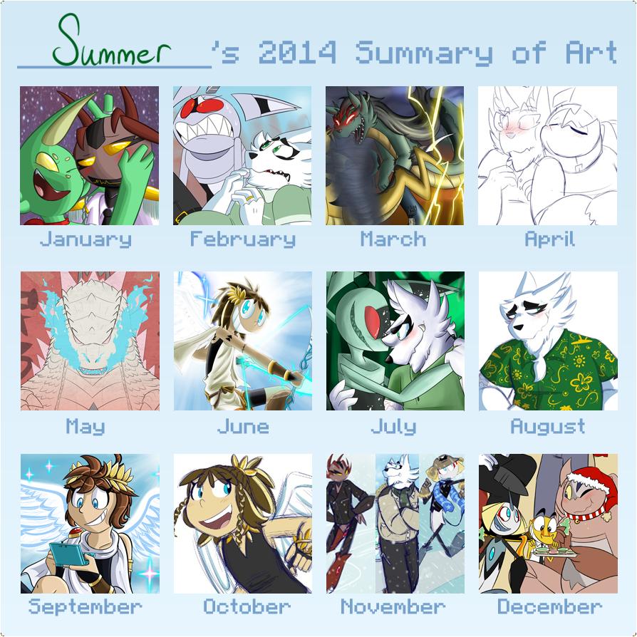 2014 Summary of Art by TheBerserkerGJ