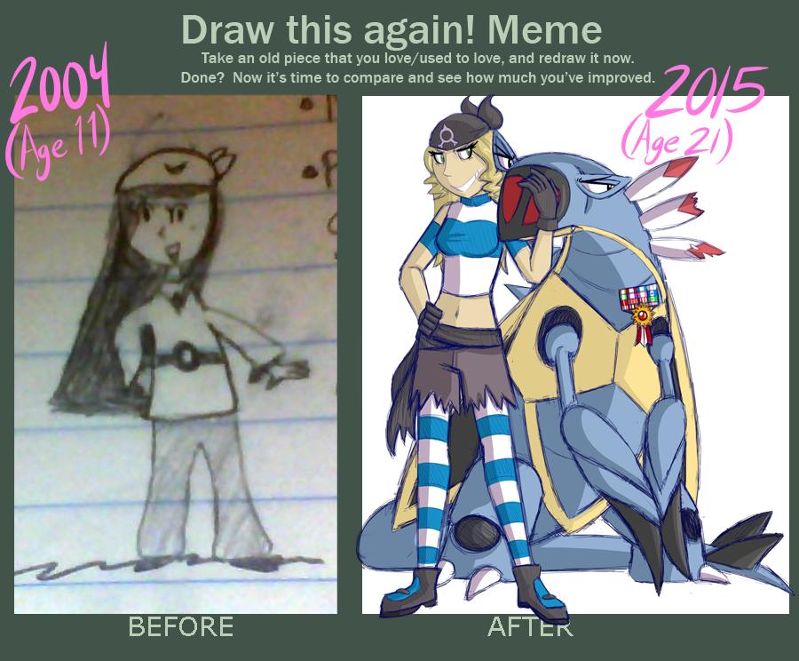 Draw It Again Meme by TheBerserkerGJ
