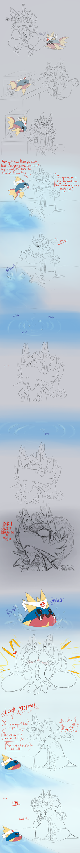 A Serious Comic About Fish Recovery by TheBerserkerGJ