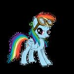 Rainbow Dash - Goggles
