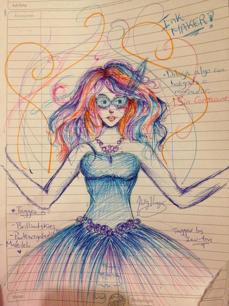 Carnaval (Ink Maker Challenge) by VaneWorks