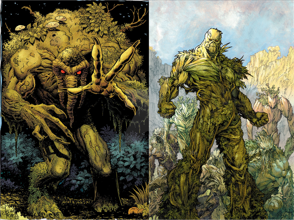 Image result for man-thing swamp thing