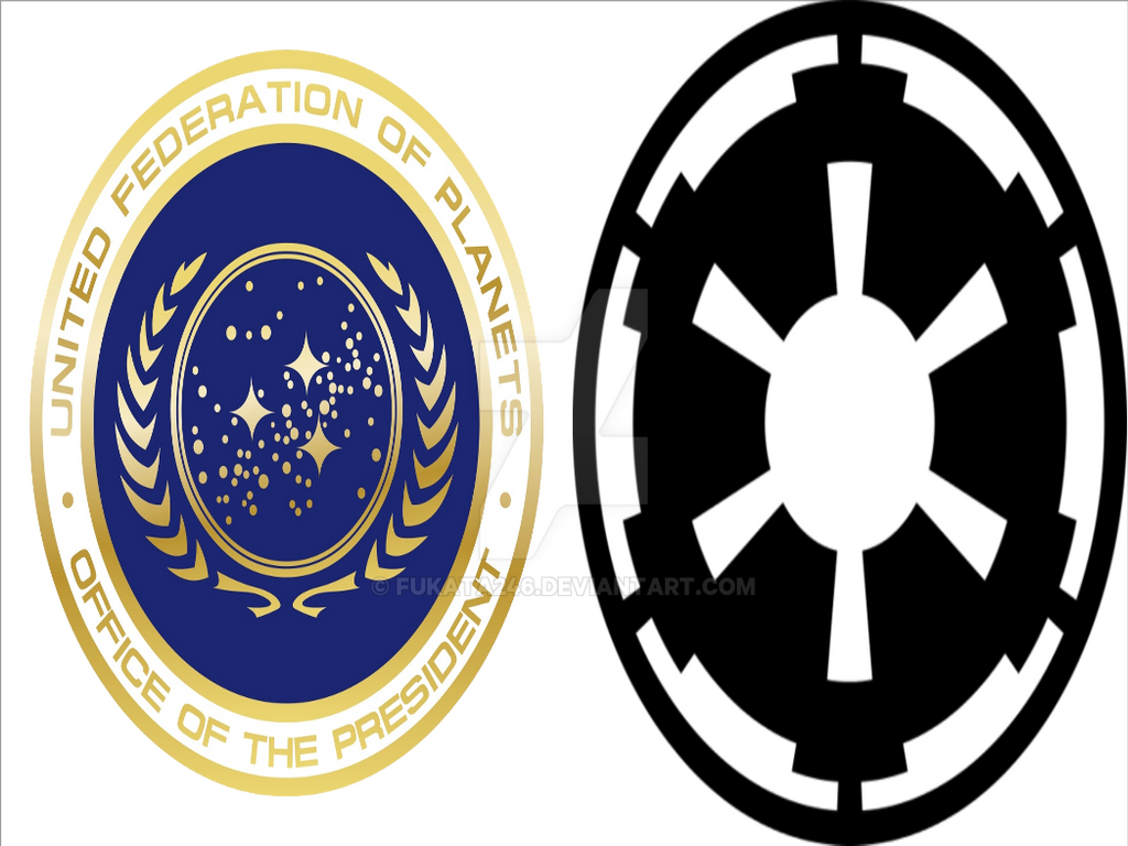 United Federation of Planets vs Galactic Empire by fukata246 on