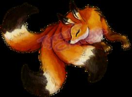 Red fox kitsune