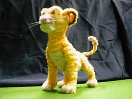 Pipe Cleaner Simba by fuzzymutt