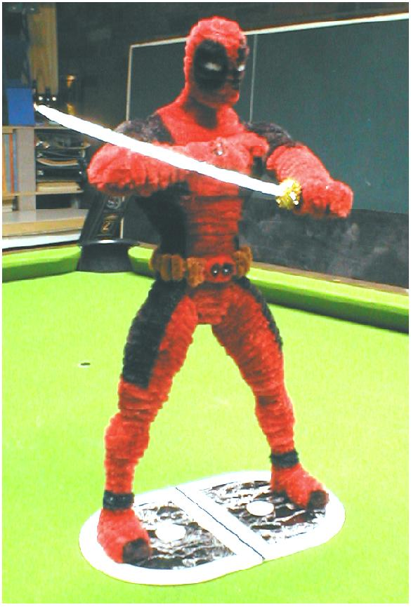 Pipe Cleaner Deadpool by fuzzymutt