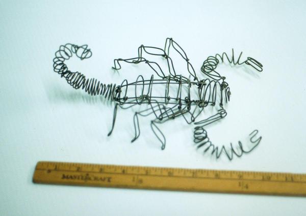 Wire Scorpion by fuzzymutt on DeviantArt