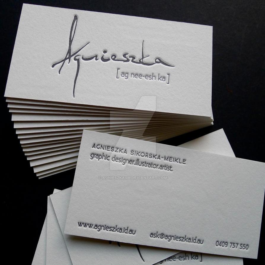 Business card by agnieszkasm