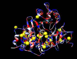 Molecular bonding in Firefly Luciferase 4m46
