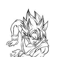 Goku's Kamehameha by darkhawk5
